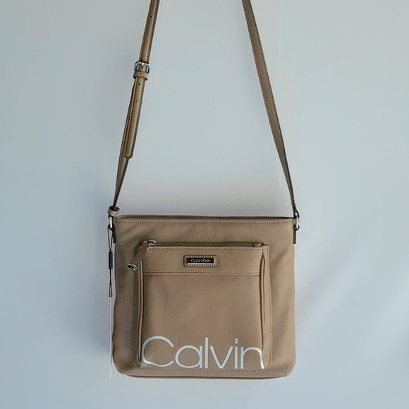 Calvin Klein Front Pocket Crossbody, NWT